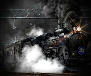 Treno a vapore per il Presepe